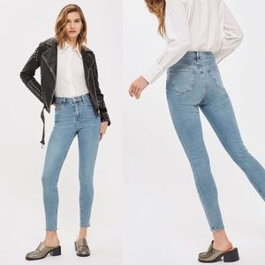 Topshop Moto Jaime High Rise Skinny Ankle Jeans